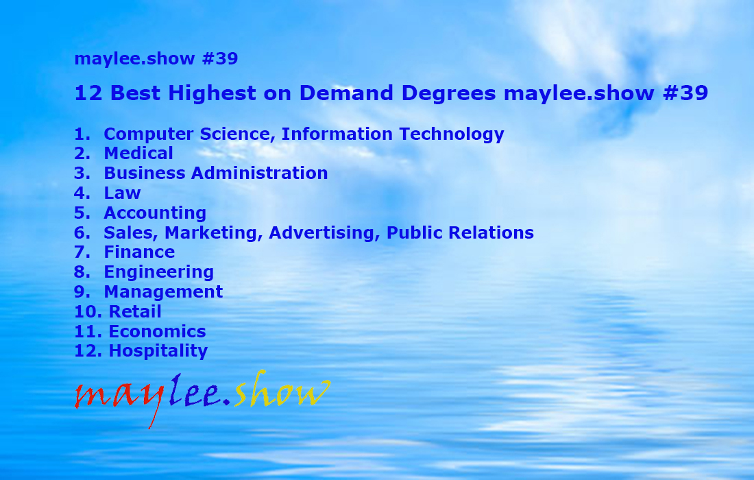 12 Best Highest on Demand Degrees maylee.show 39