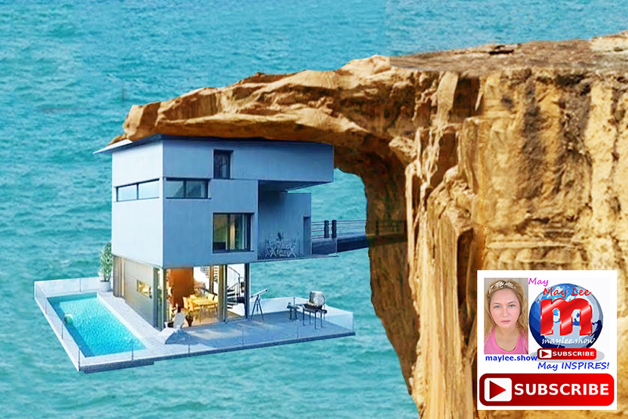1 amazing luxury homes built on cliff rock