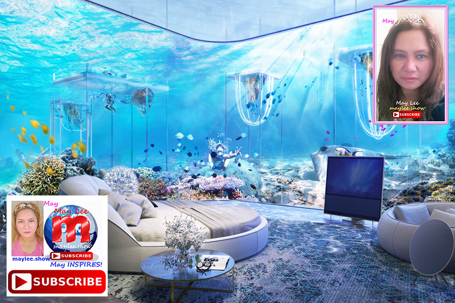 1 coolest under sea water world luxury resorts