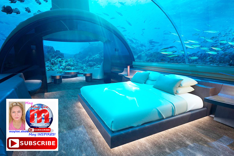 2 coolest under sea water world luxury resorts