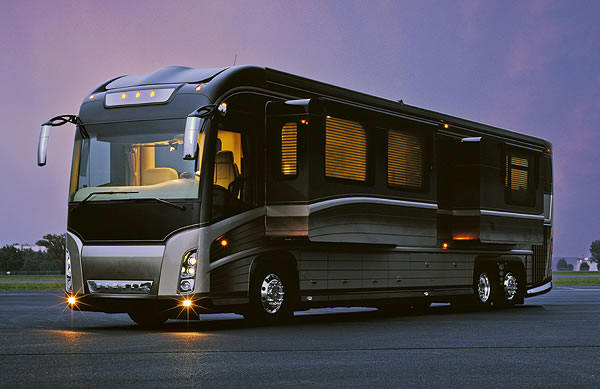 2 top luxury rvs most expensive rv motor homes