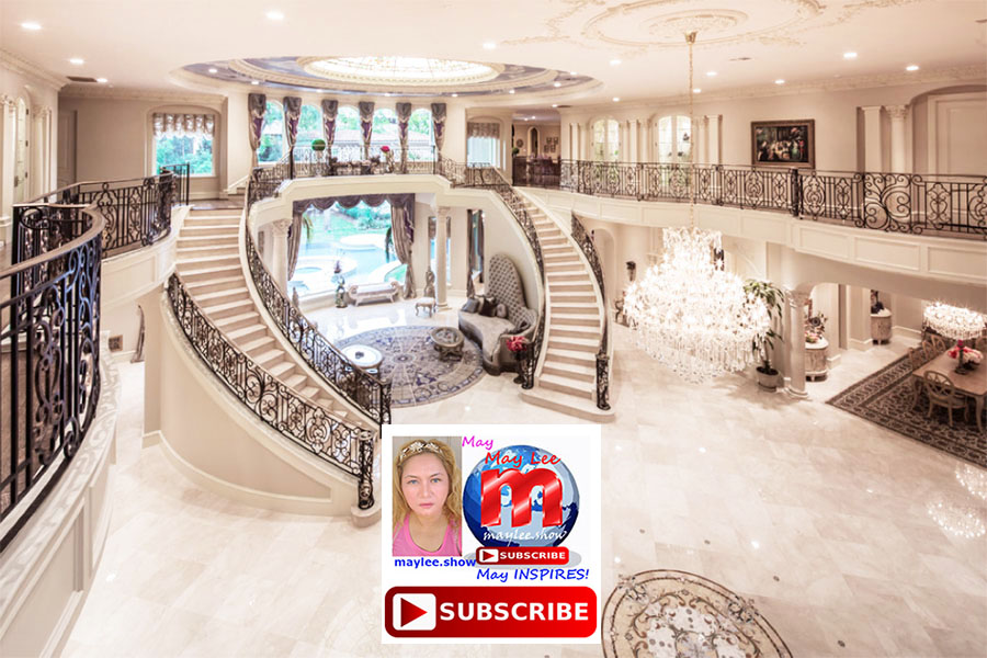2 worlds most luxurious royal double stairs