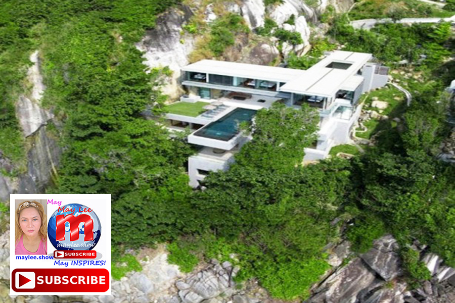 5 amazing luxury homes built on cliff rock