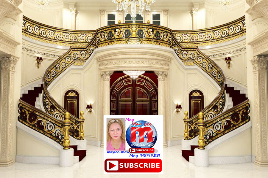 5 worlds most luxurious royal double stairs