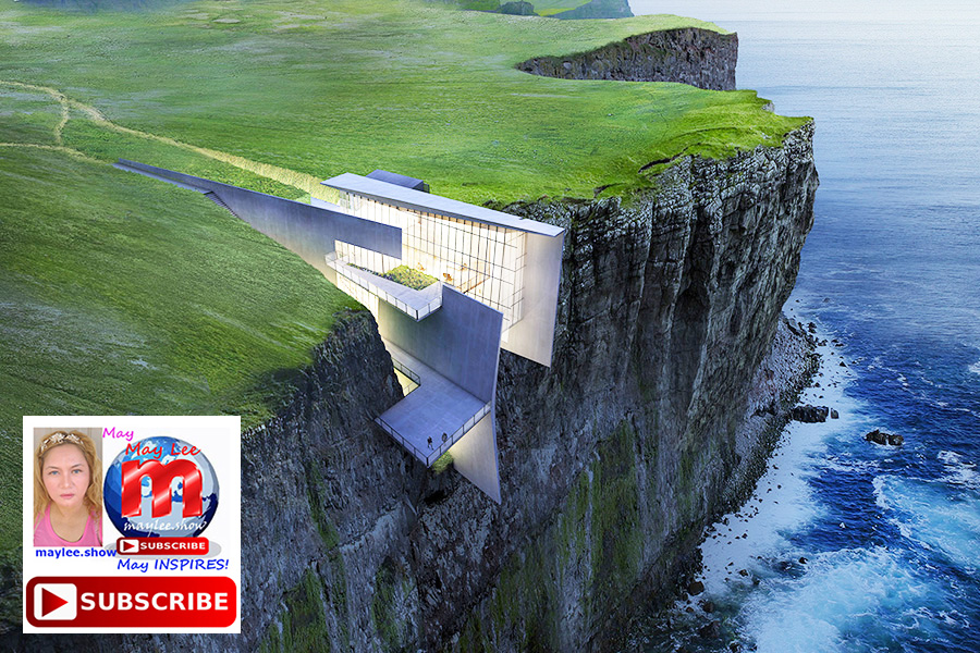 6 amazing luxury homes built on cliff rock