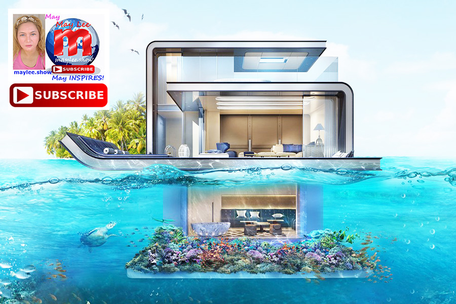6 imagine living under ocean water resort homes