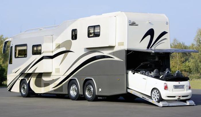 7 mind blowing motor rv homes luxury rvs
