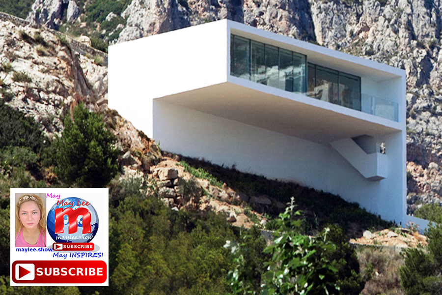 9 amazing luxury homes built on cliff rock