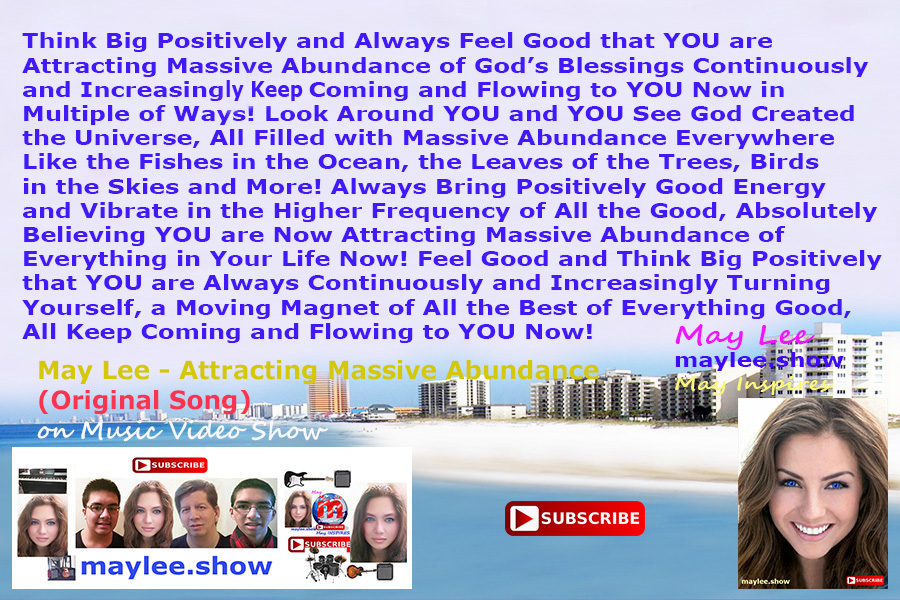 attracting massive abundance may lee official music video show maylee.show 670