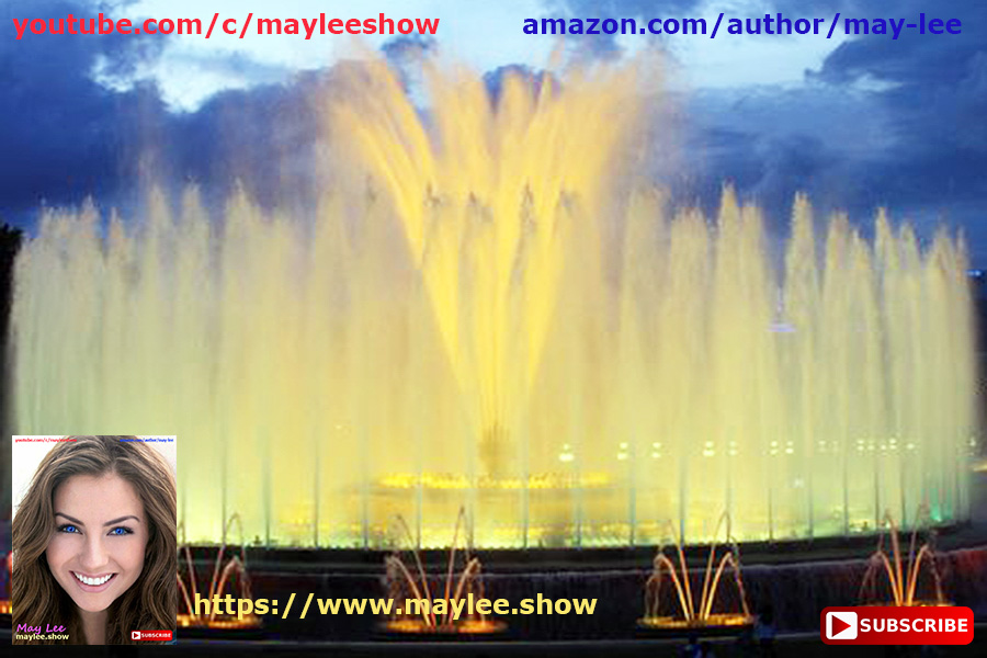 barcelona spain. paradise luxury fountains worlds top best 3 attracting 25 million subscribers global youtube may lee