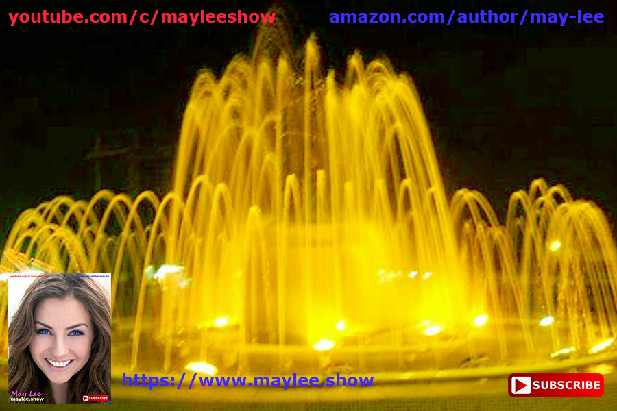 karnataka india. magnificent paradise fountains 4 attracting 25 million subscribers usa global youtube may lee