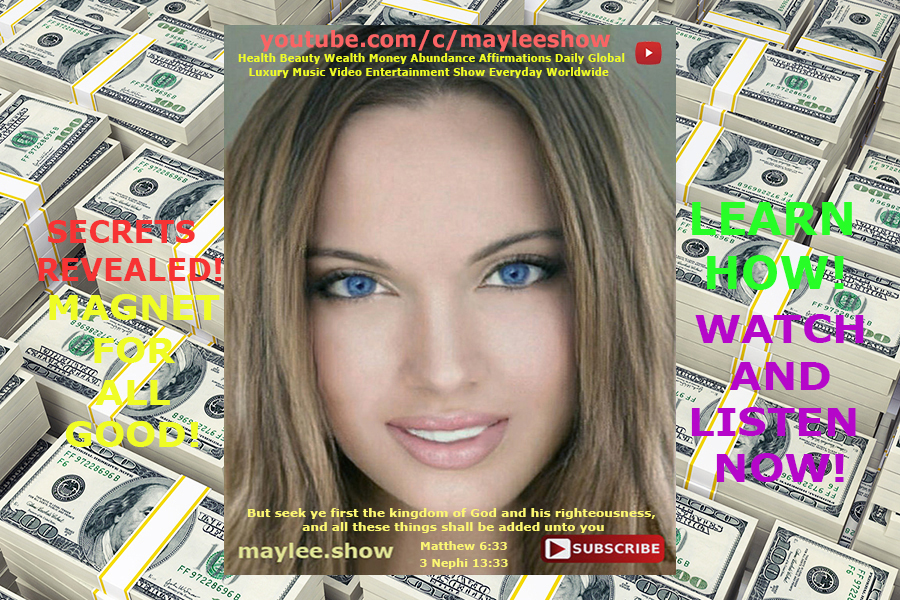 may lee magnet for all good original song money abundance millions billions affirmations luxury music secrets revealed learn how
