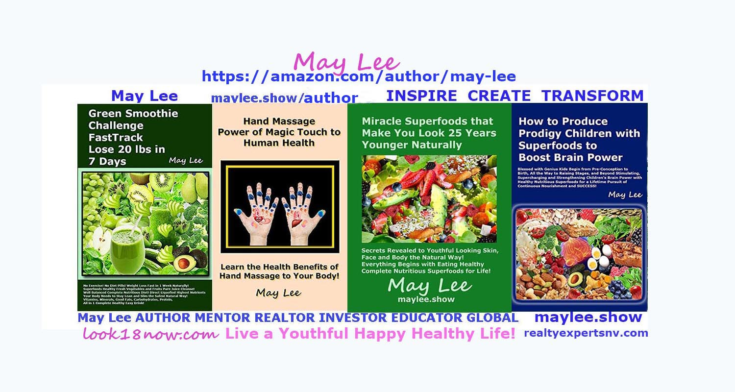 may lee author amazon beauty fitness nutrition superfoods health books on maylee.show