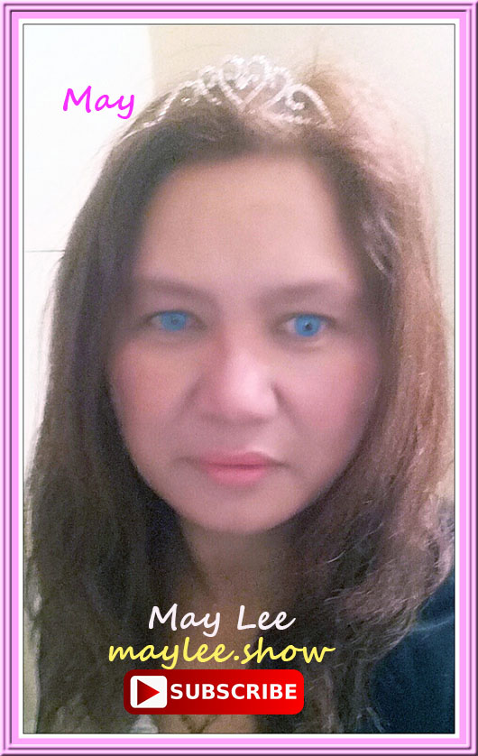 may lee maylee.show may inspires may youtube luxury public figure international inspirer global masses of 7.7 billion people worldwide