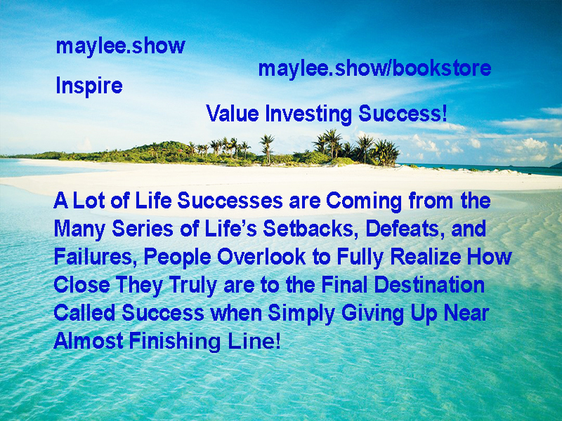 maylee.show inspire what life success truly means