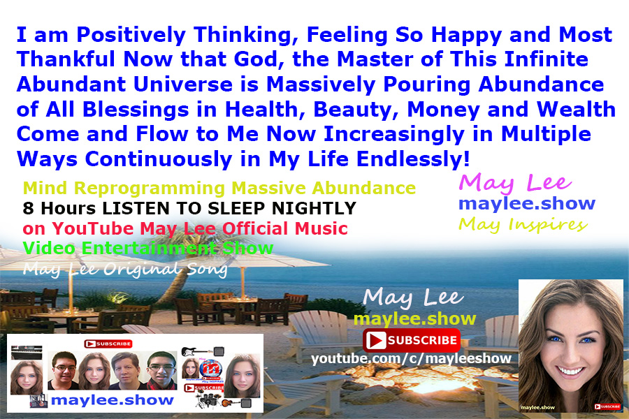 mind reprogramming massive abundance 8 hours listen to sleep nightly may lee music video on youtube luxury