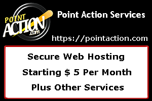 Point Action Services - Secure Web Hosting